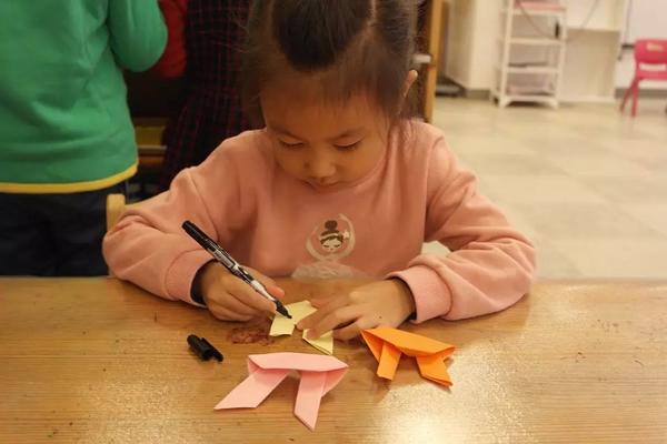 折纸——小兔子