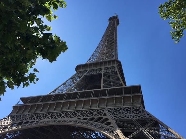 地标性建筑埃菲尔铁塔